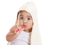 Brushing Teeth Stock Image
