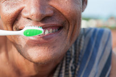 Brushing teeth a. Nd oral hygiene Royalty Free Stock Photography