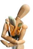 Brushs y manequin Fotografía de archivo libre de regalías