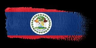 Brushstroke Flag Belize Royalty Free Stock Images