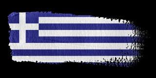 Brushstroke Flag Greece Royalty Free Stock Images