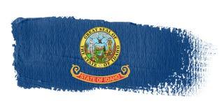 Brushstroke Flag Idaho Stock Photo