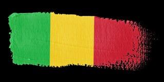 Brushstroke Flag Mali Royalty Free Stock Photo