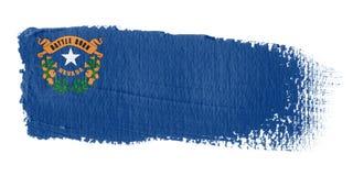 Brushstroke Flag Nevada Royalty Free Stock Photo