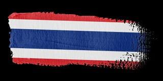 Brushstroke Flag Thailand Stock Photography