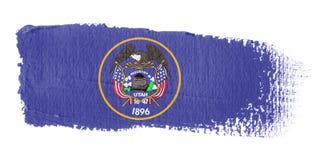 Brushstroke Flag Utah Stock Photography