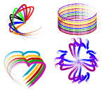 Brushstroke logos Stock Photography