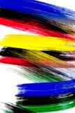 brushstrokes Стоковая Фотография RF
