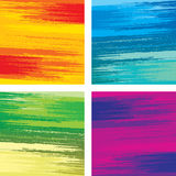 Brushstrokes Vector Textures Stock Photos