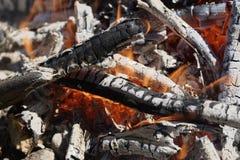 Brushwood fire Stock Photos