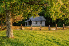 Brushy Mountain Schoolhouse, Cumberland Gap National Park Stock Photo