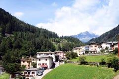 Brusio i Canton av Graubunden, Schweitz Fotografering för Bildbyråer