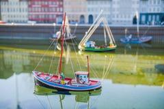 BRUSSEL, BELGIË - DECEMBER 05 2016 - Mini Europe-miniaturen parkeert in Brussel Royalty-vrije Stock Afbeelding