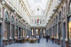 Brussel, België, 25 Juni 2015: Restaurant in Brussel, België Royalty-vrije Stock Foto