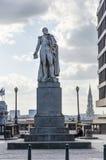 Brussel, België - Mei 12, 2015: Augstin-Daniel Belliard, standbeeld Stock Afbeeldingen