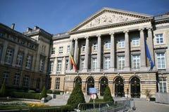 Brussel, het Parlement Stock Afbeelding