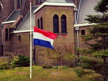 Brussel memorial. Memorial in Holland for the Brussel terror attacks royalty free stock photos
