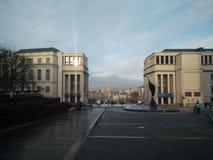 Brussel - mont des arts Stock Afbeelding