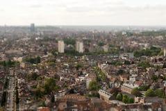 Brussel in schuine stand-verschuiving Stock Fotografie
