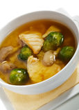 Brussel Sprout Soup Royalty Free Stock Photos