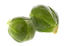 Brussel Sprouts Macro Stock Images