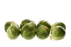 Brussel Sprouts Macro Royalty Free Stock Photos