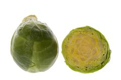 Brussel Sprouts Macro Royalty Free Stock Photography