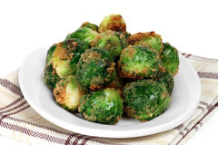 Brussel Sprouts Roasted Royalty Free Stock Photo