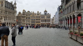 Brussel vóór aanval Royalty-vrije Stock Afbeelding