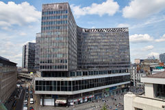 Brussels administrative center  and surrounding streets Royalty Free Stock Photography