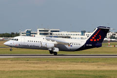 Brussels Airlines Image libre de droits
