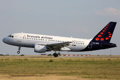 Brussels Airlines Obraz Royalty Free