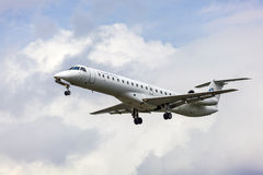 Brussels Airlines Regional Embraer Royalty Free Stock Photo