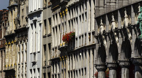 Brussels architecture Stock Images
