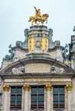 Brussels architecture. Relax - you are in Brussels! Royalty Free Stock Photography
