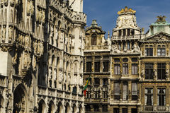 Brussels architecture Stock Photography