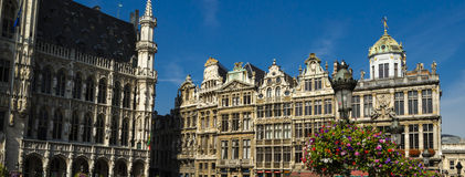 Brussels architecture Royalty Free Stock Photos