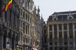 Brussels architecture Stock Image
