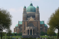 Brussels basilica Royalty Free Stock Photography