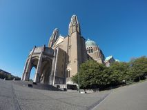 Brussels Basilique royalty free stock images