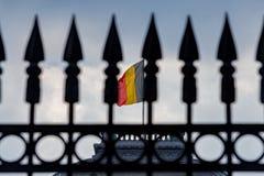 brussels belgian flaga Zdjęcie Royalty Free