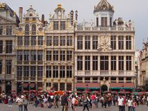 Brussels Grand Place Architecture Royalty Free Stock Photography