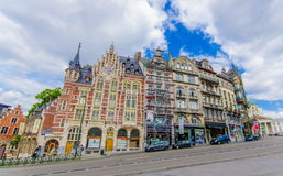 BRUSSELS, BELGIUM - 11 AUGUST, 2015: Music Stock Photography
