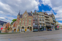 BRUSSELS, BELGIUM - 11 AUGUST, 2015: Music Royalty Free Stock Images