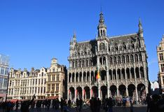 Brussels in Belgium Stock Image