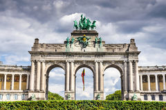 Brussels, Belgium - Cinquantenaire Royalty Free Stock Photos
