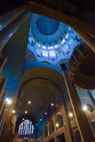 BRUSSELS, BELGIUM - DECEMBER 05 2016 - Interior of the National Basilica of the Sacred Heart Koekelberg Stock Photo