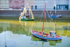 BRUSSELS, BELGIUM - DECEMBER 05 2016 - Mini Europe miniatures park in Brussels Stock Photo