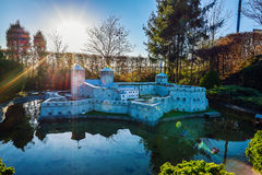 BRUSSELS, BELGIUM - DECEMBER 05 2016 - Mini Europe miniatures park in Brussels Stock Photography
