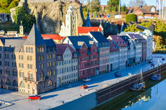 BRUSSELS, BELGIUM - DECEMBER 05 2016 - Mini Europe miniatures park in Brussels Stock Images